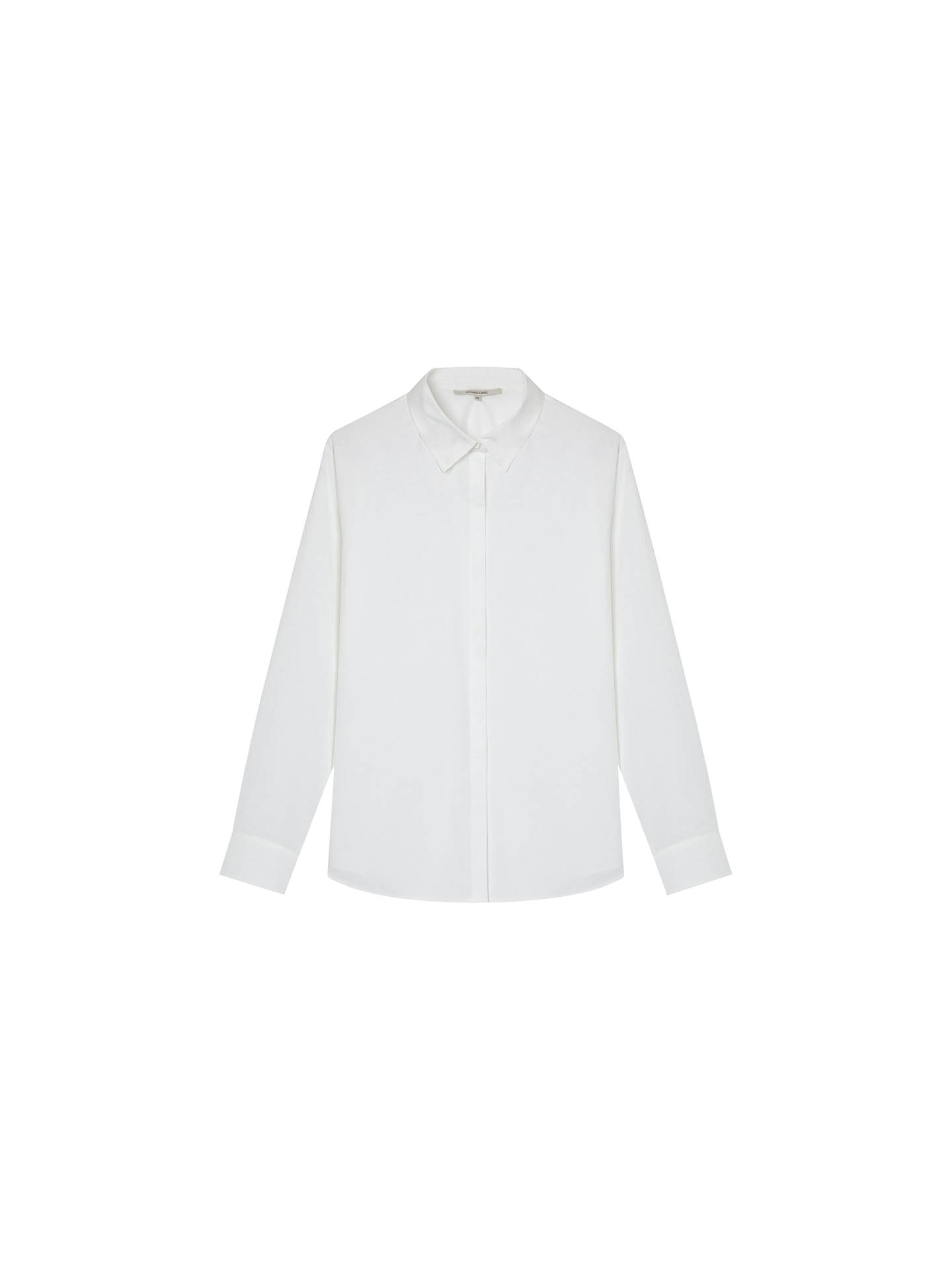 Buy Gerard Darel Anne Cotton Shirt, White, 10 Online at johnlewis.com