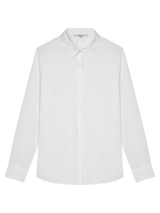 Buy Gerard Darel Anne Cotton Shirt, White, 16 Online at johnlewis.com