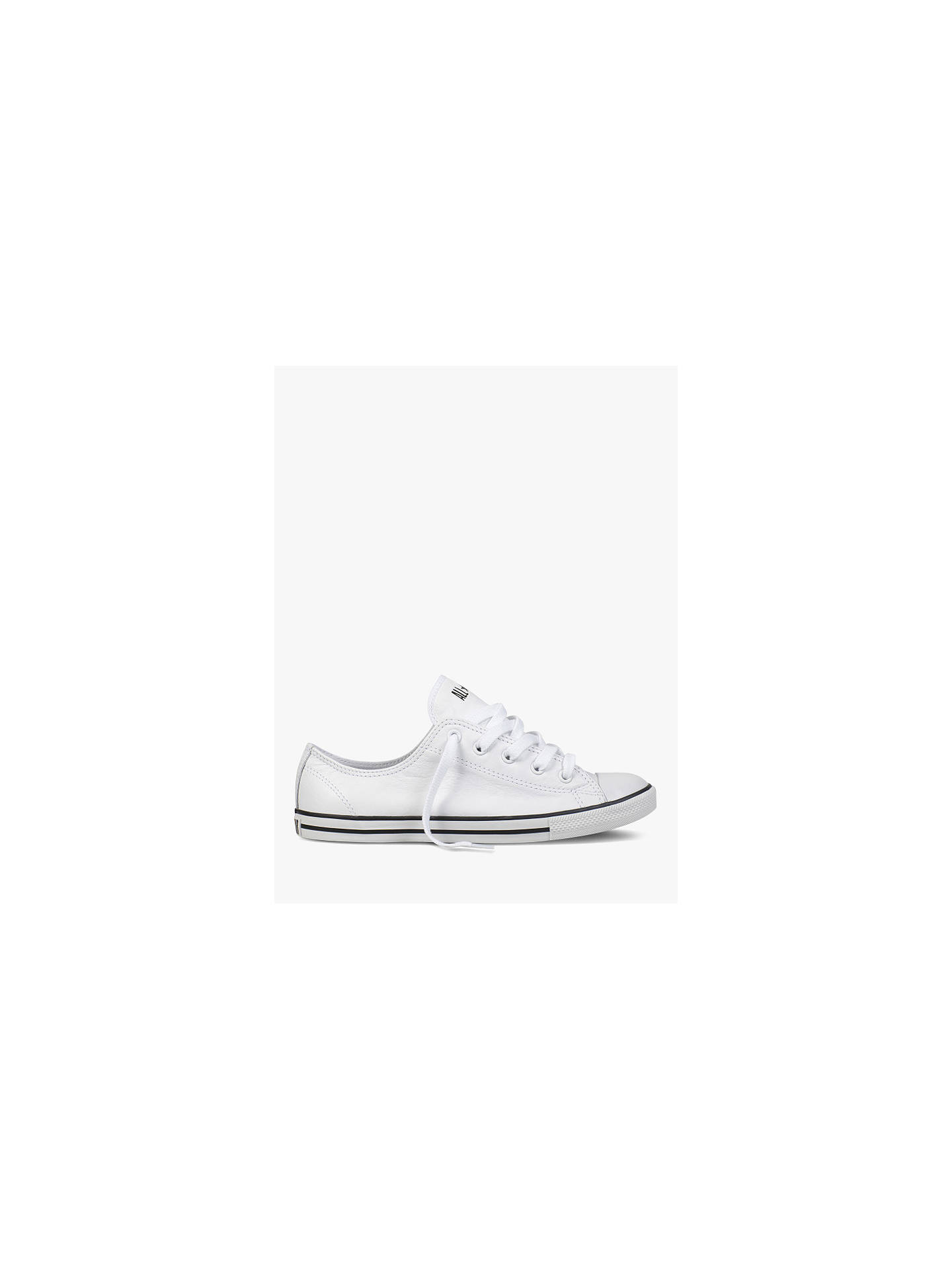 41f26002ec3c75 Converse Chuck Taylor All Star Women s Dainty Leather Trainers ...