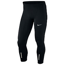Buy Nike Tech Running Tights, Anthracite Online at johnlewis.com