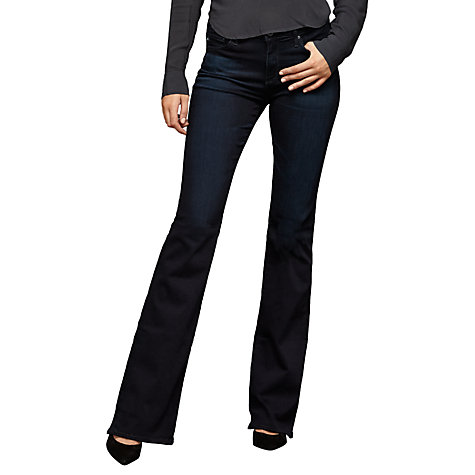 Buy AG The Angel Mid Rise Bootcut Jeans, Saga Online at johnlewis.com