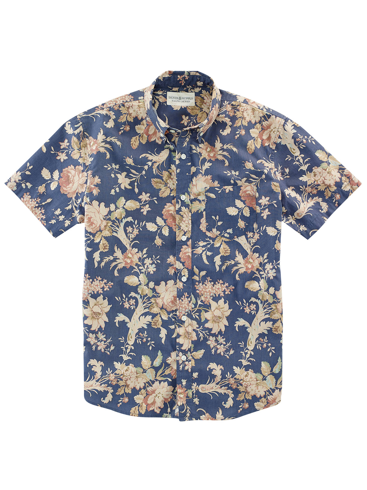 7175ae448d Denim   Supply Ralph Lauren Floral Poplin Sport Shirt at John Lewis ...