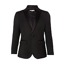 Buy John Lewis Heirloom Collection Boys' Tuxedo Suit Jacket, Black Online at johnlewis.com