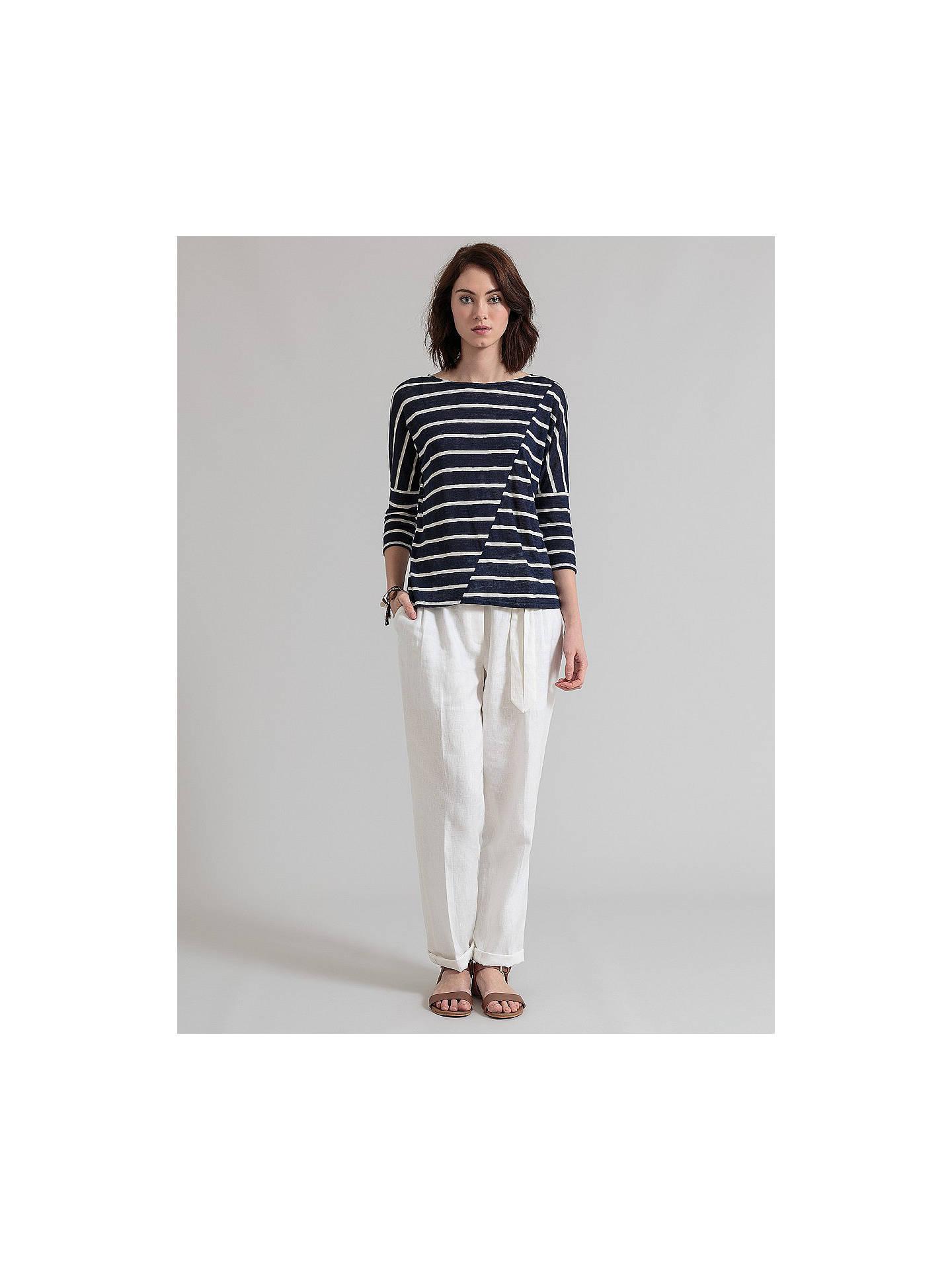 23adfca81cf ... Buy East Stripe Linen Blend Top