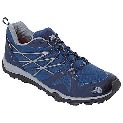 The North Face Hedgehog Fastpack Lite Men's Hiking Shoes, Blue/Multi