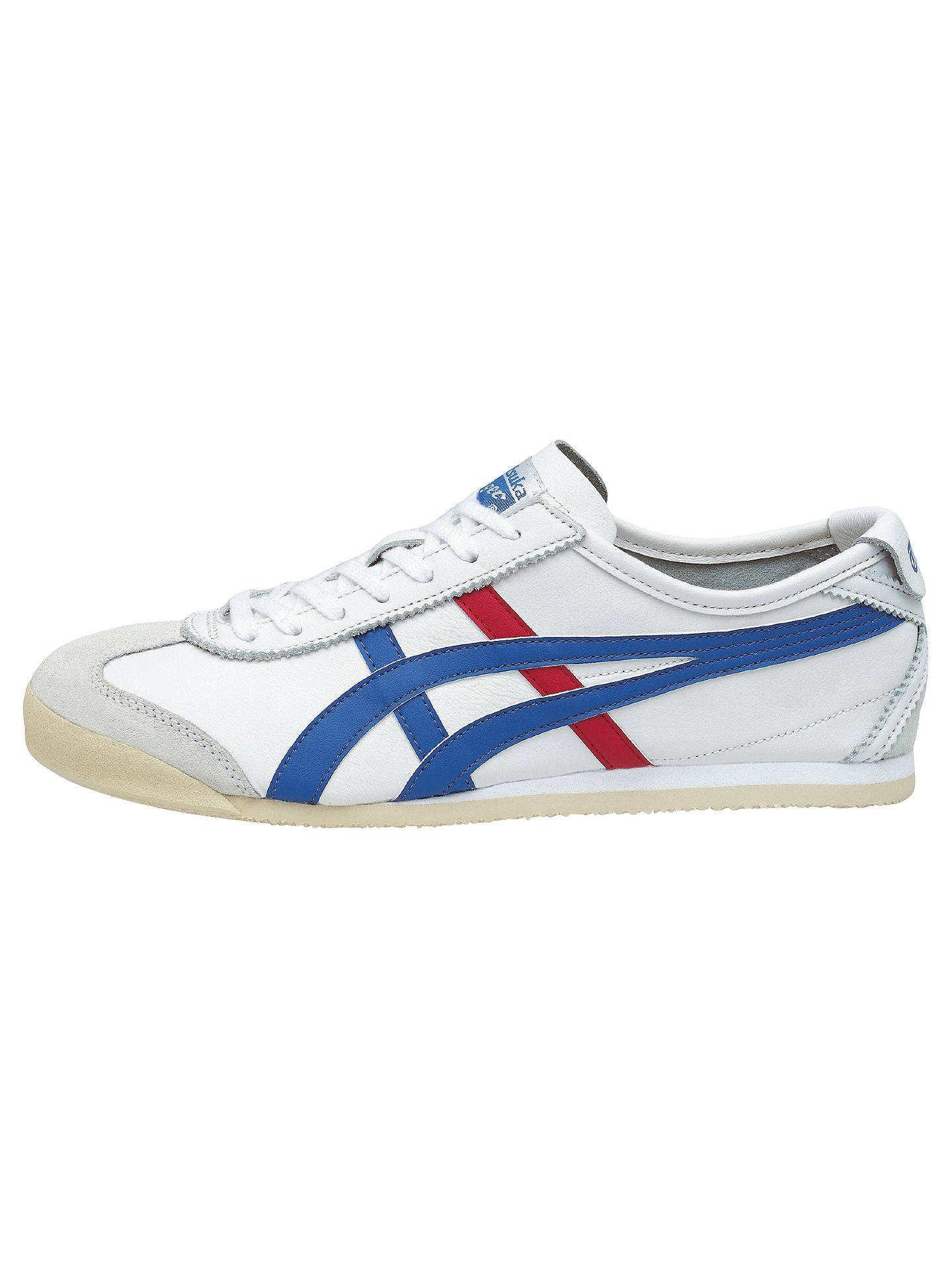 Onitsuka Tiger Mexico 66 Men S Trainers White Blue At John Lewis