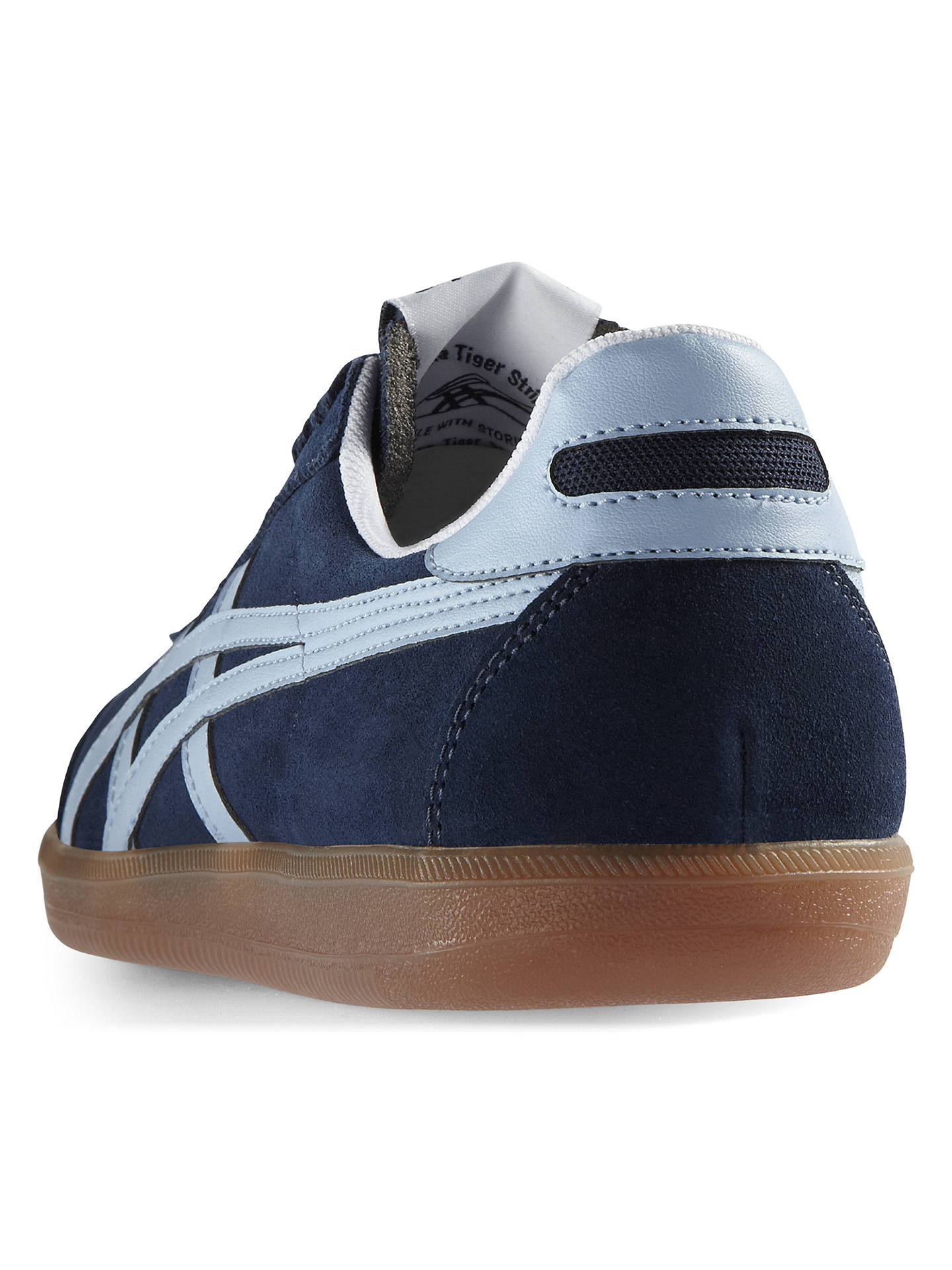 check out 02871 af066 Onitsuka Tiger Tokuten Men's Trainers, Navy at John Lewis ...