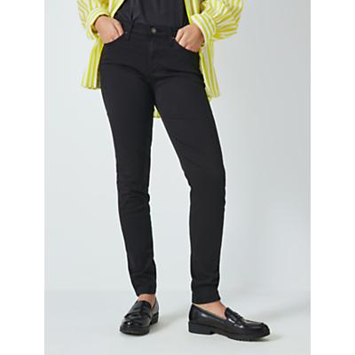 AG The Prima Mid Skinny Jeans, Super Black