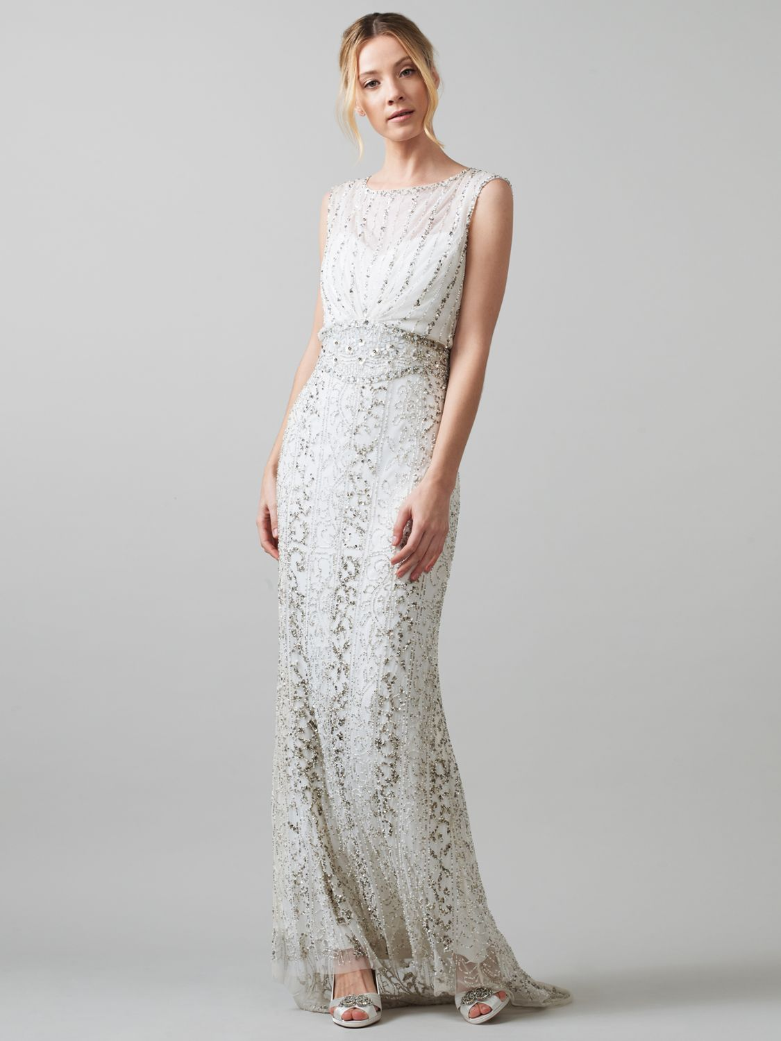 Buy phase eight bridal hope wedding dress ivory john lewis for Phase eight wedding dresses