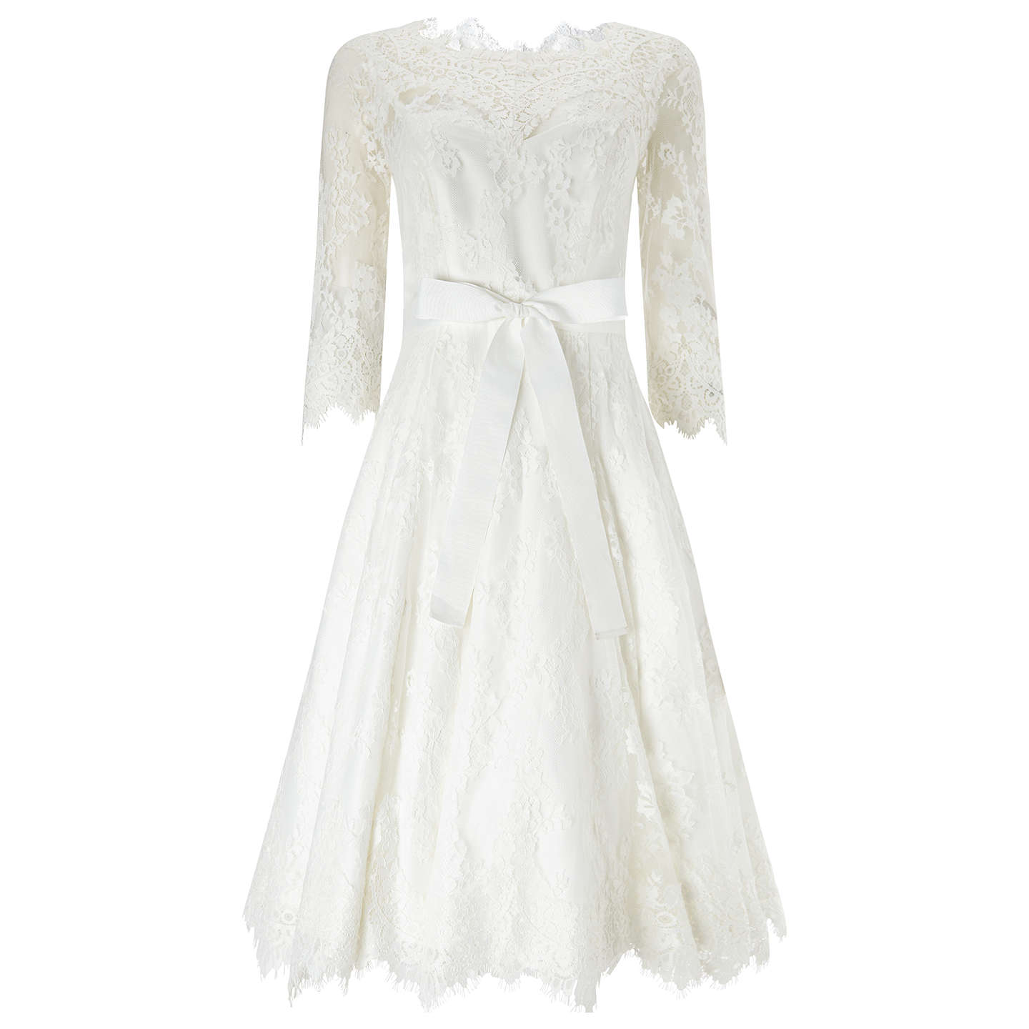 Phase eight bridal cressida wedding dress ivory at john lewis for Phase eight wedding dresses