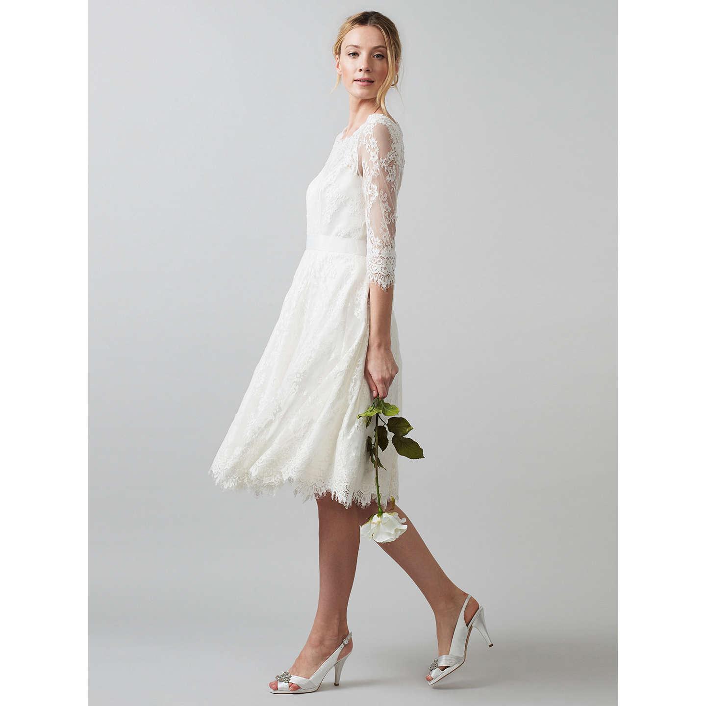 Phase Eight Bridal Cressida Wedding Dress Ivory 12 Online At Johnlewis