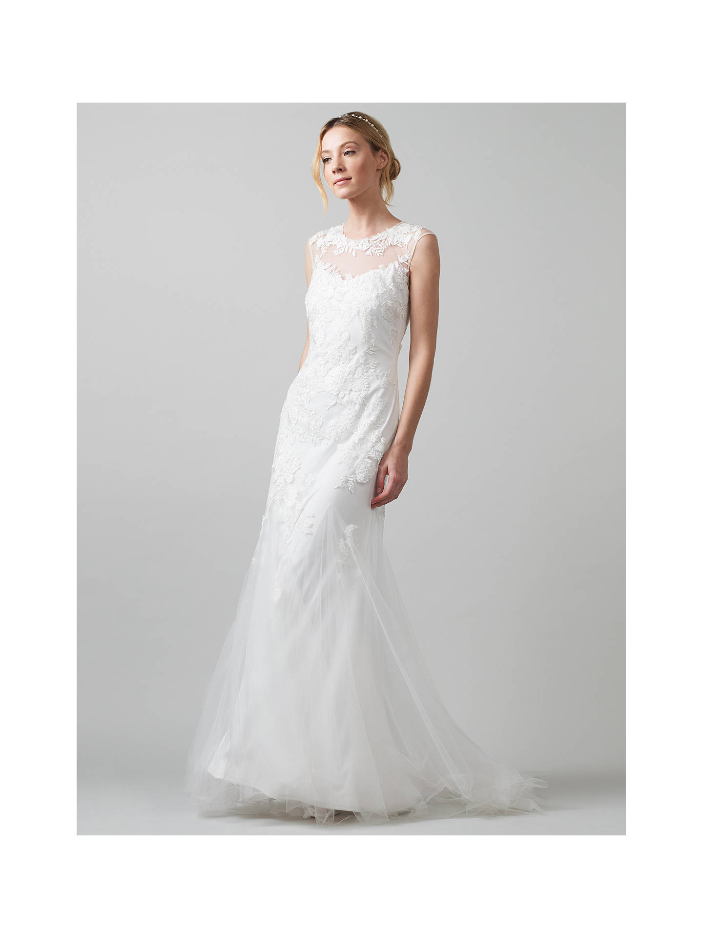 Phase Eight Bridal Josefina Wedding Dress Ivory 8 Online At Johnlewis