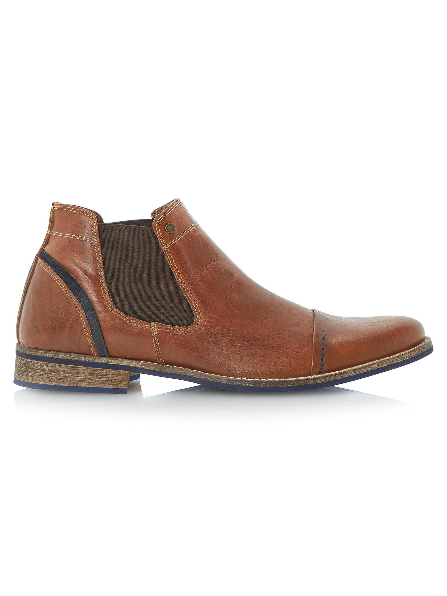BuyDune Chili Toecap Chelsea Boot, Tan, 7 Online at johnlewis.com ...