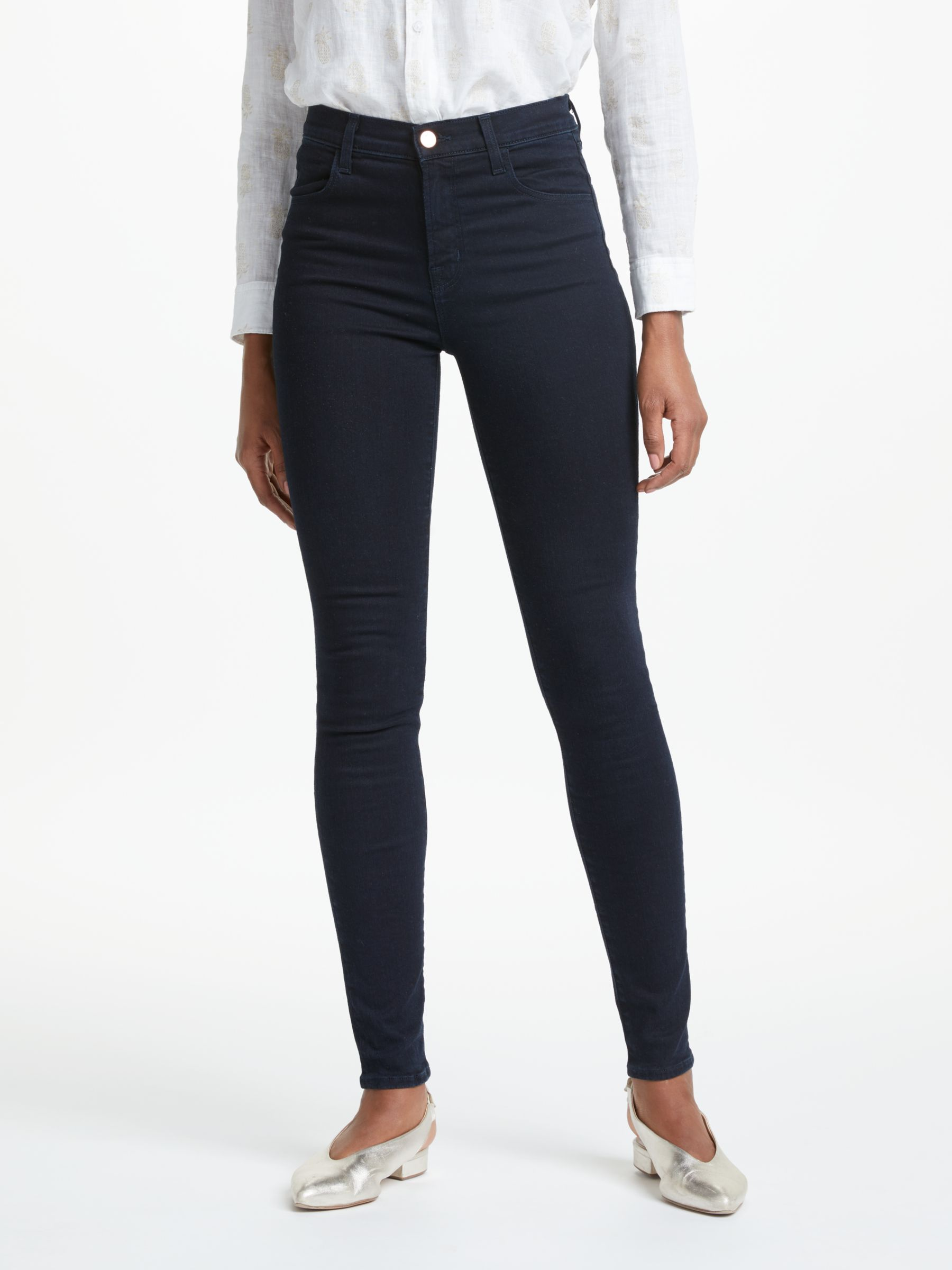 J Brand J Brand Maria High Rise Skinny Jeans, Bluebird