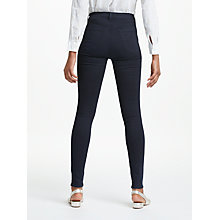 Buy J Brand Maria High Rise Flared Jeans, Bluebird Online at johnlewis.com