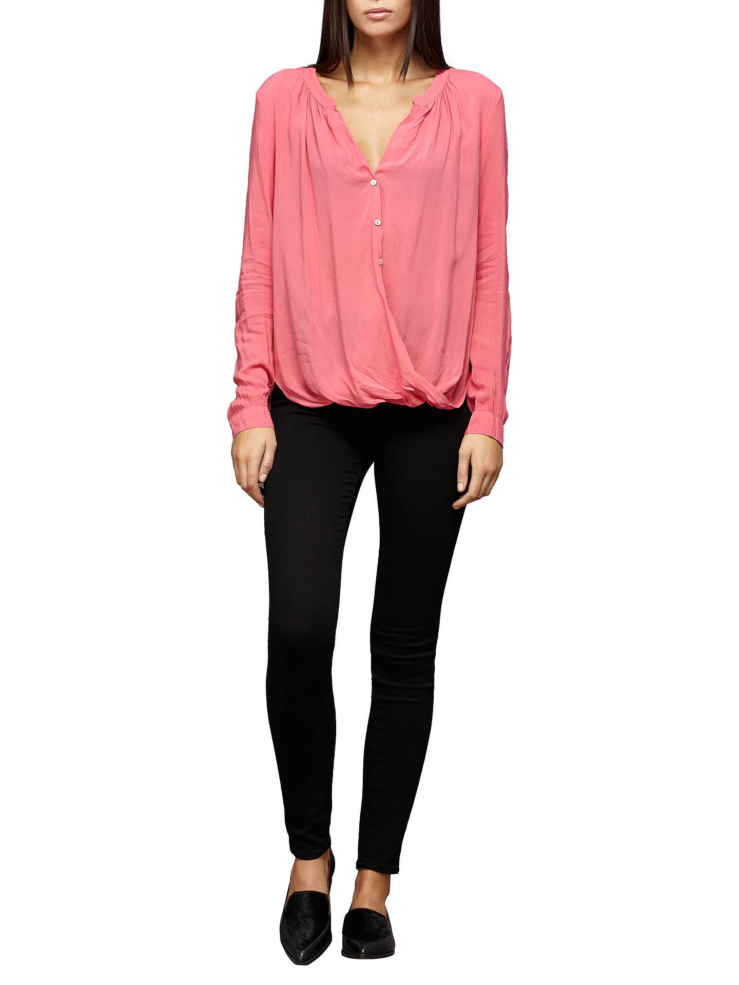 BuyPaige Margot High Rise Ultra Skinny Jeans, Black Shadow, 25 Online at johnlewis.com