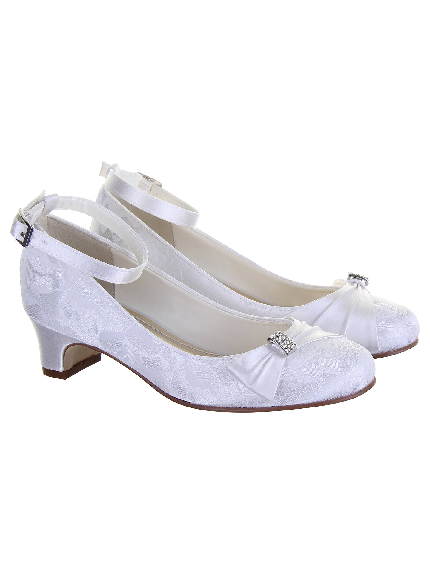 775f08e470a Rainbow Club Mint Bridesmaid Shoes, White Communion