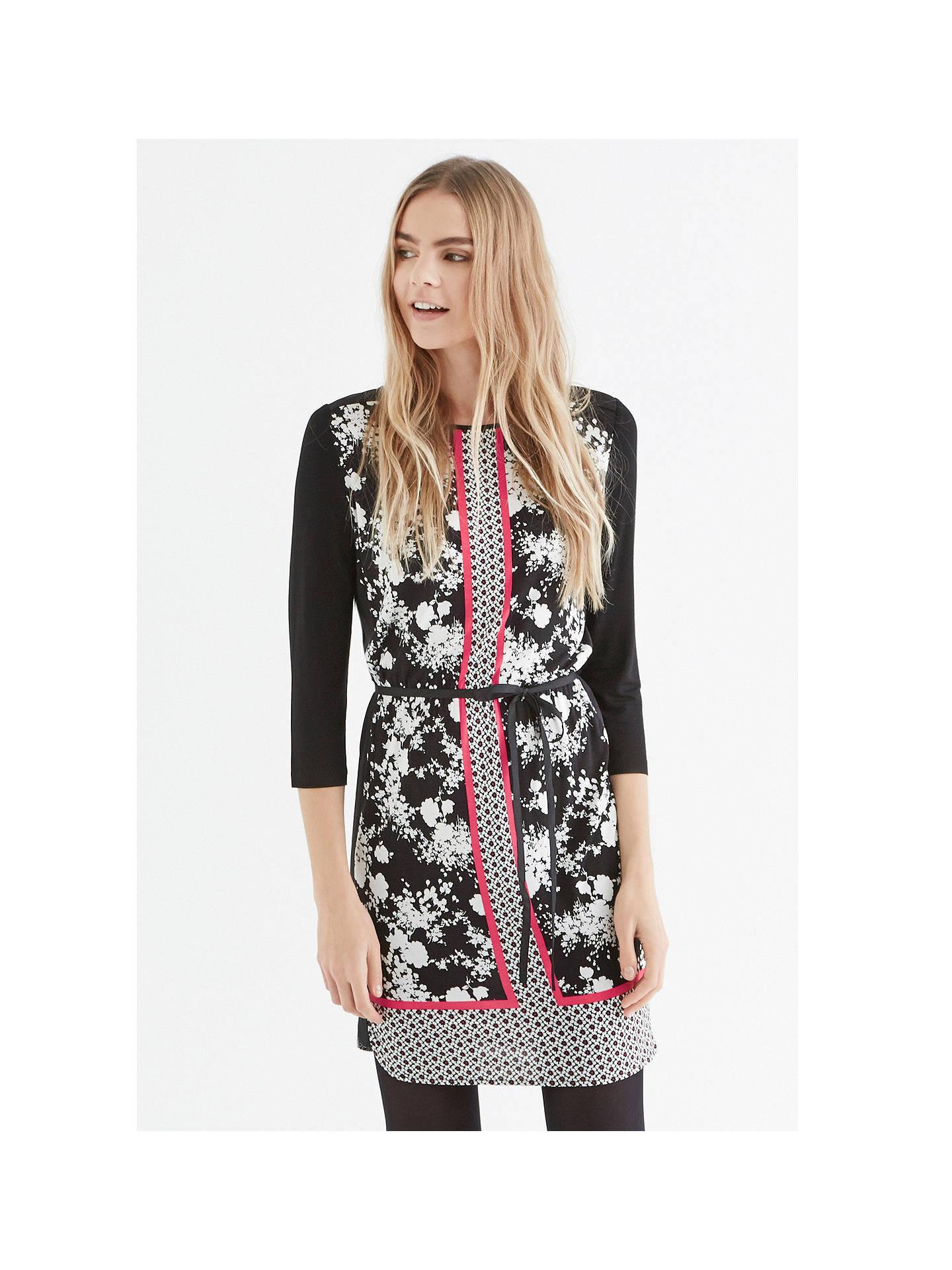 f59983e86294 ... BuyOasis Secret Garden T-shirt Dress, Multi, XS Online at johnlewis.com  ...