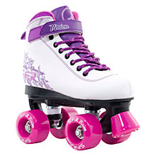 Buy SFR Vision 2 Roller Skates, White/Purple Online at johnlewis.com