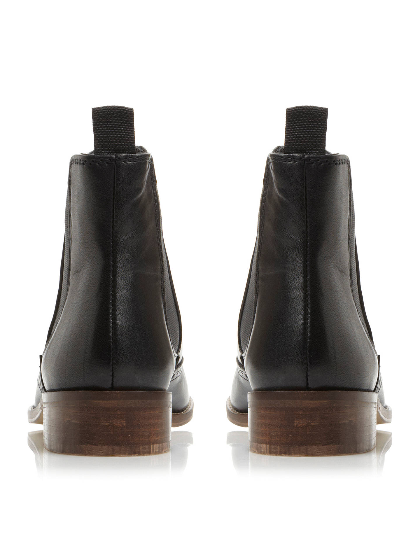 John Punch Lewis : Dune quentin punch hole leather chelsea boots at john