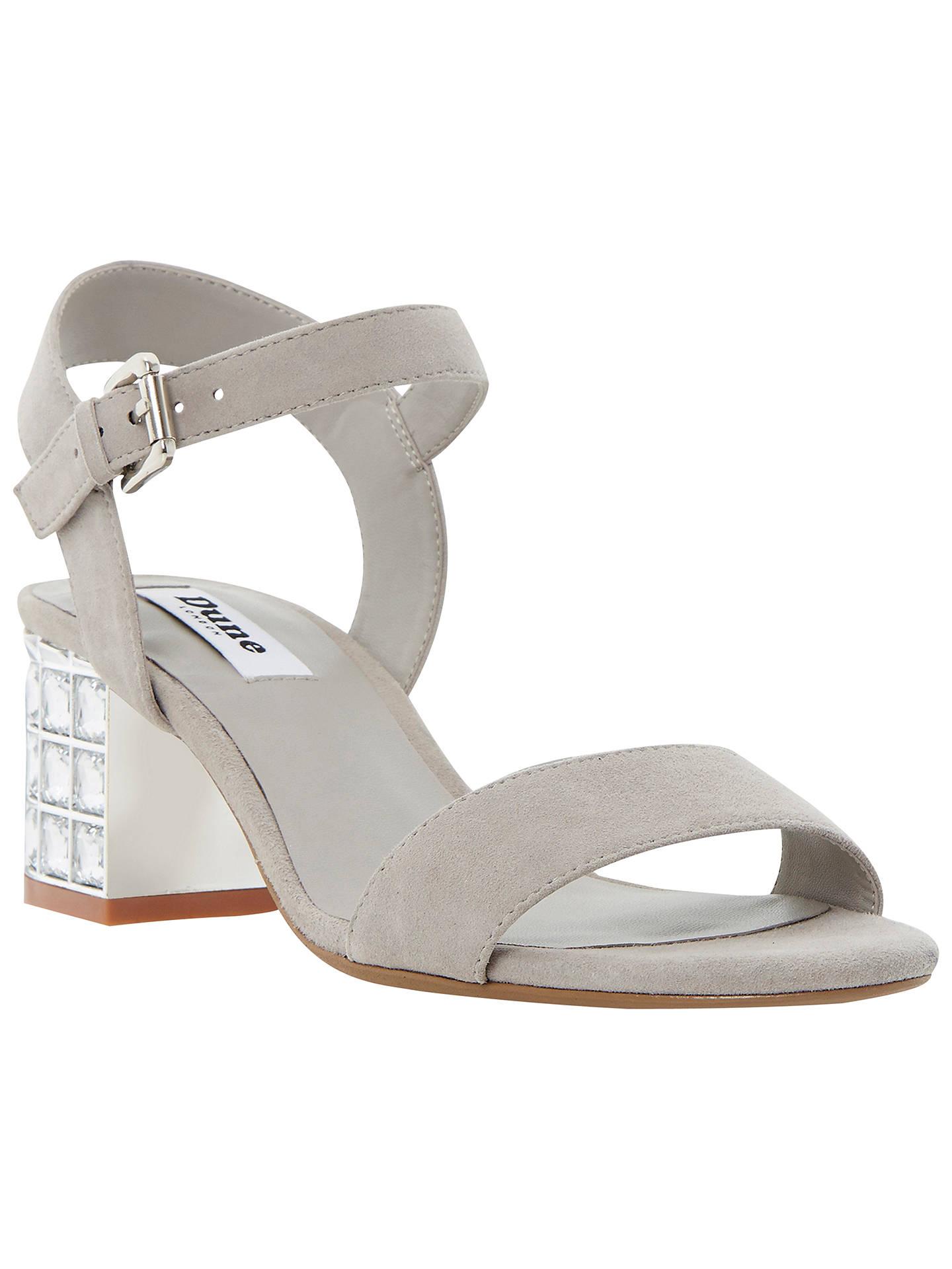 cfcc5ff7e30 Buy Dune Harah Jewelled Block Heeled Sandals