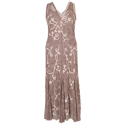 Best 1920s Prom Dresses – Great Gatsby Style Gowns Chesca Ombre Cornelli Dress Mink £255.00 AT vintagedancer.com