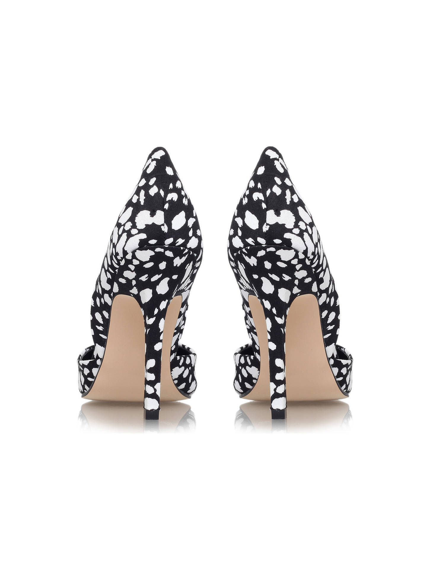 54f581d275 ... Buy Miss KG Evelyn Embellished Court Shoes, Black/White, 3 Online at  johnlewis ...