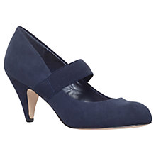Buy Carvela Kam Suedette Court Shoes, Navy Online at johnlewis.com