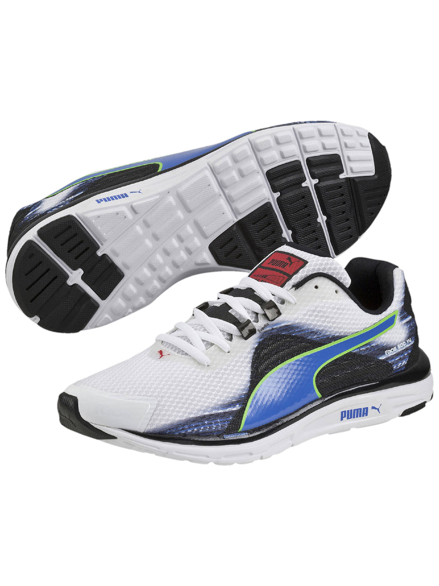 Puma FAAS 500 v4 Men's Running Shoes, WhiteStrong Blue at