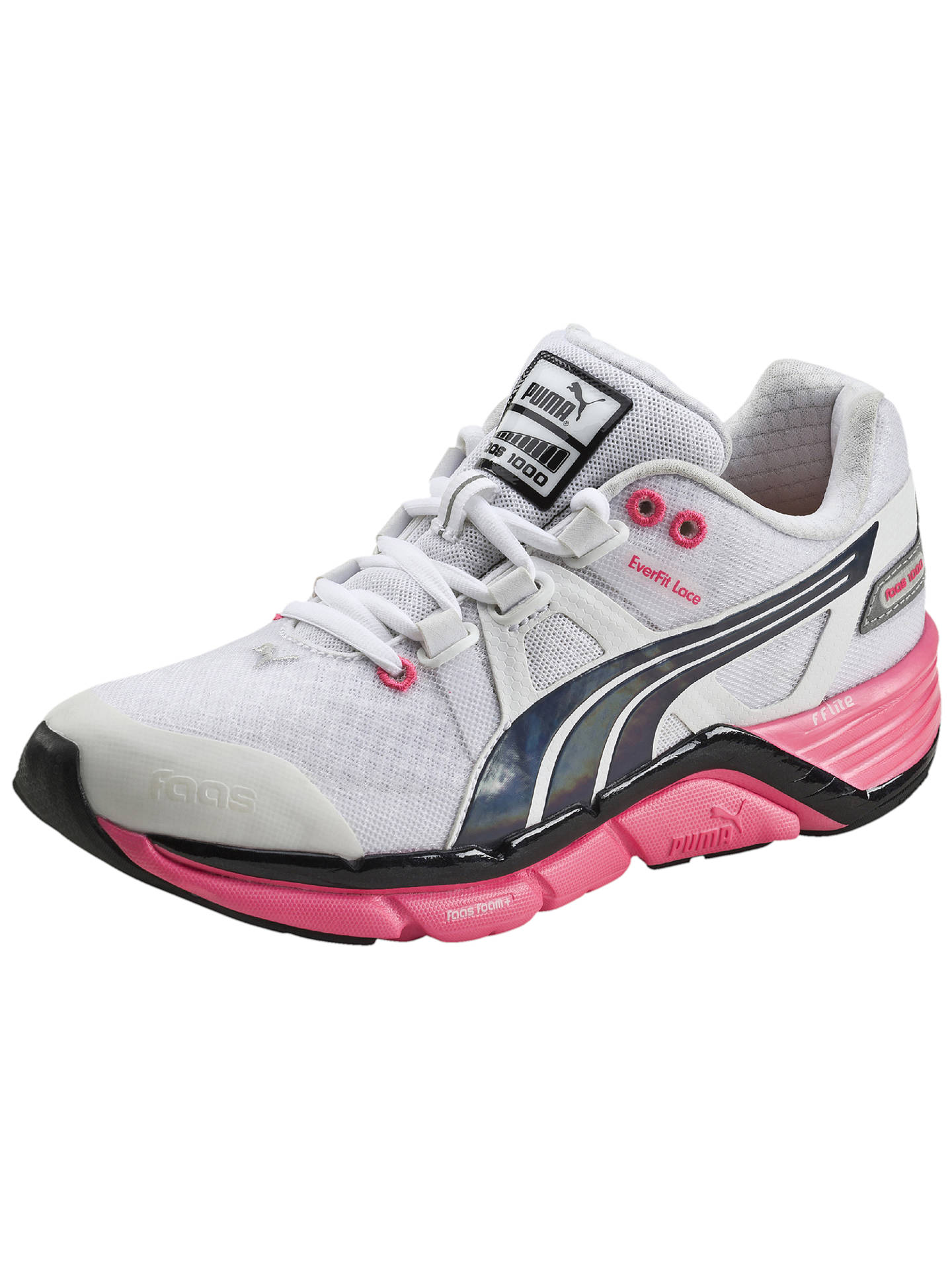 Puma Faas 1000 V1 5 Women S Running Shoes White Pink At John Lewis