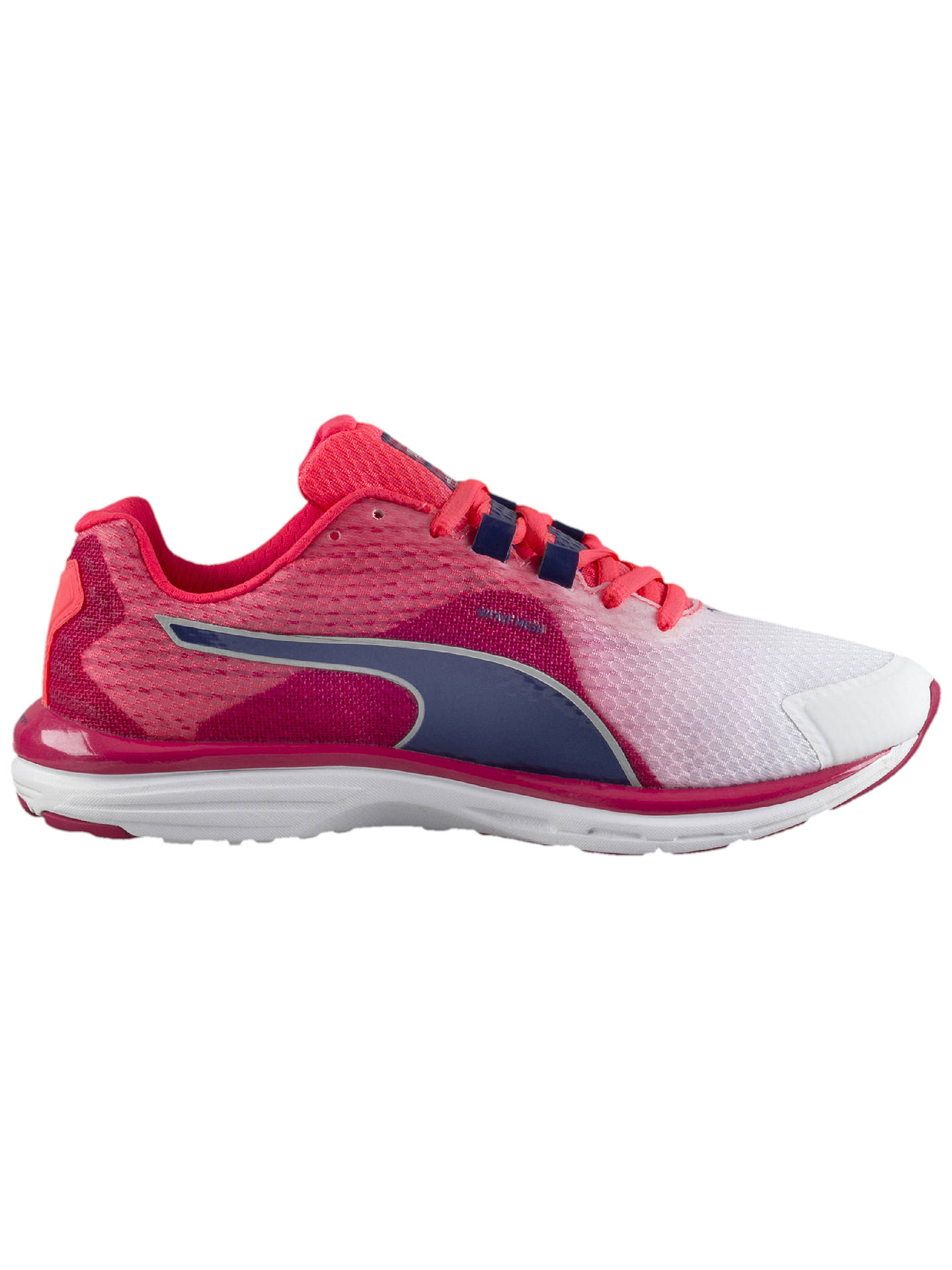 best service c1ad5 8bcca Puma FAAS 500 V4 Women's Running Shoes, Pink/White at John ...