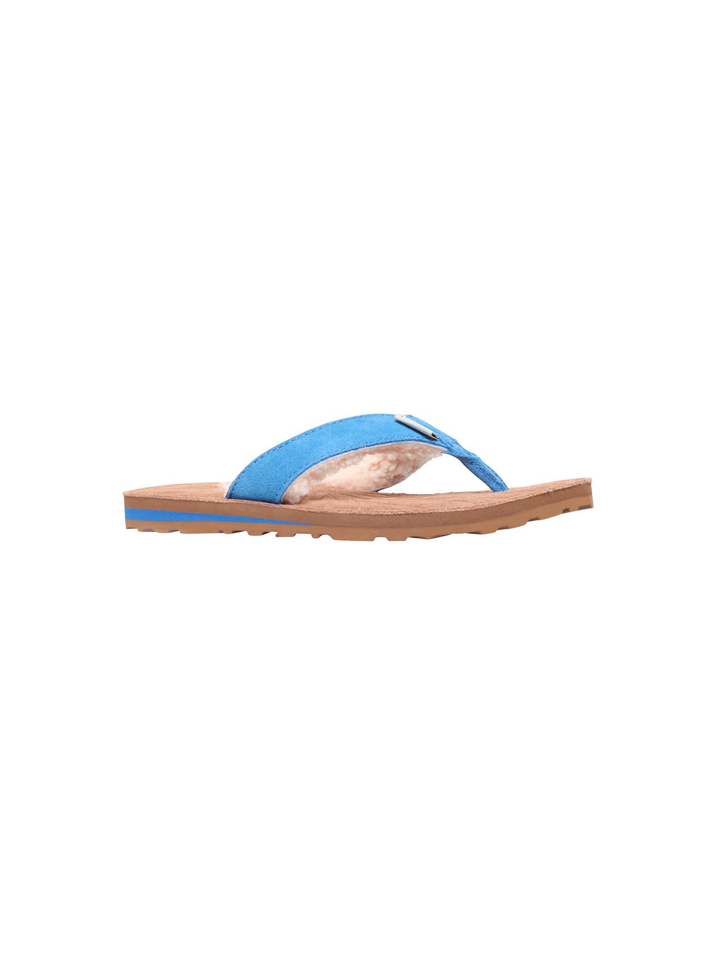 1e38f26467a UGG Tasmina Suede Flat Toe Post Flip Flops at John Lewis   Partners