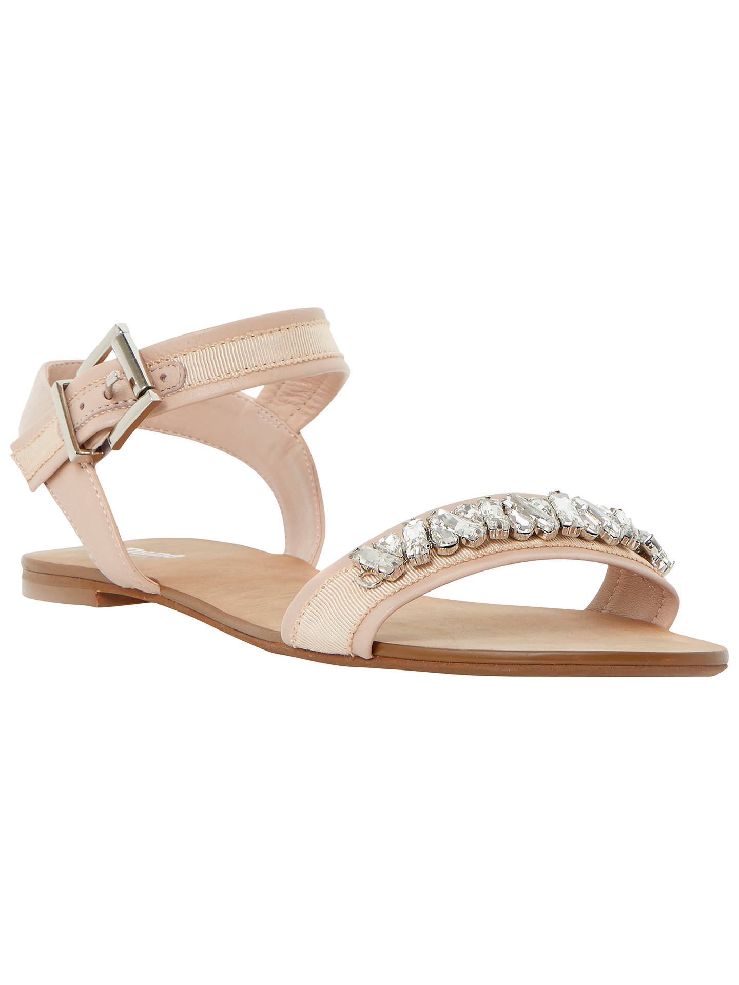 8809315230a4c BuyDune Neeve Jewelled Leather Sandals
