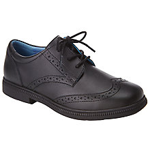 Buy John Lewis Chancery Laced Brogues Shoes, Black Online at johnlewis.com