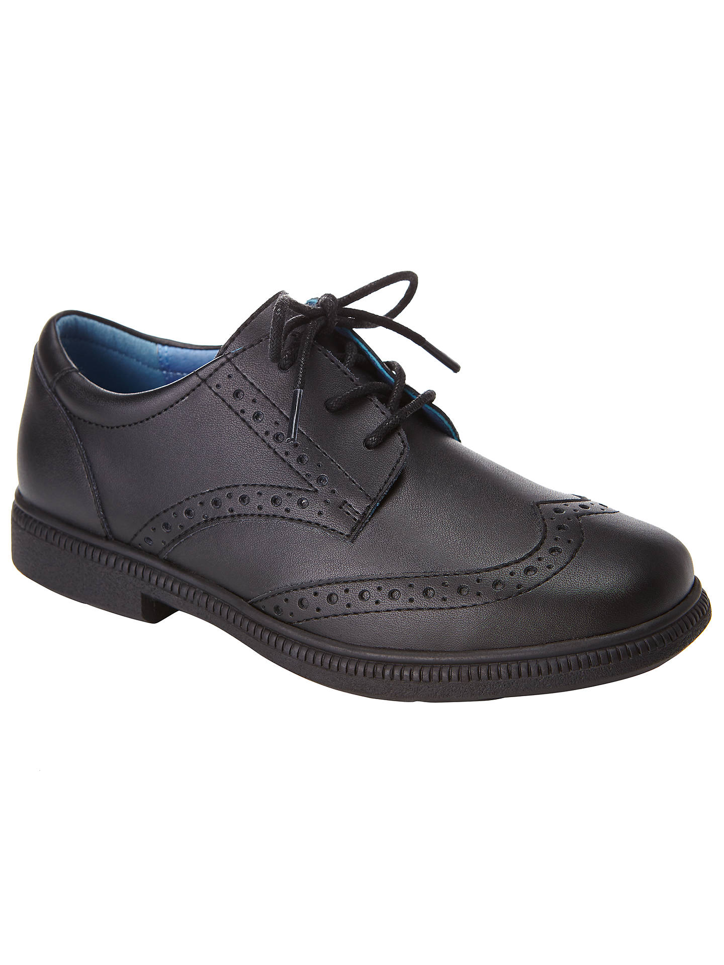BuyJohn Lewis & Partners Chancery Laced Brogues Shoes, Black, 13 Jnr Online at johnlewis.com