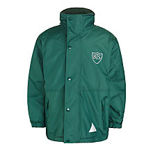 Buy Buckholme Towers School Coat, Green Online at johnlewis.com
