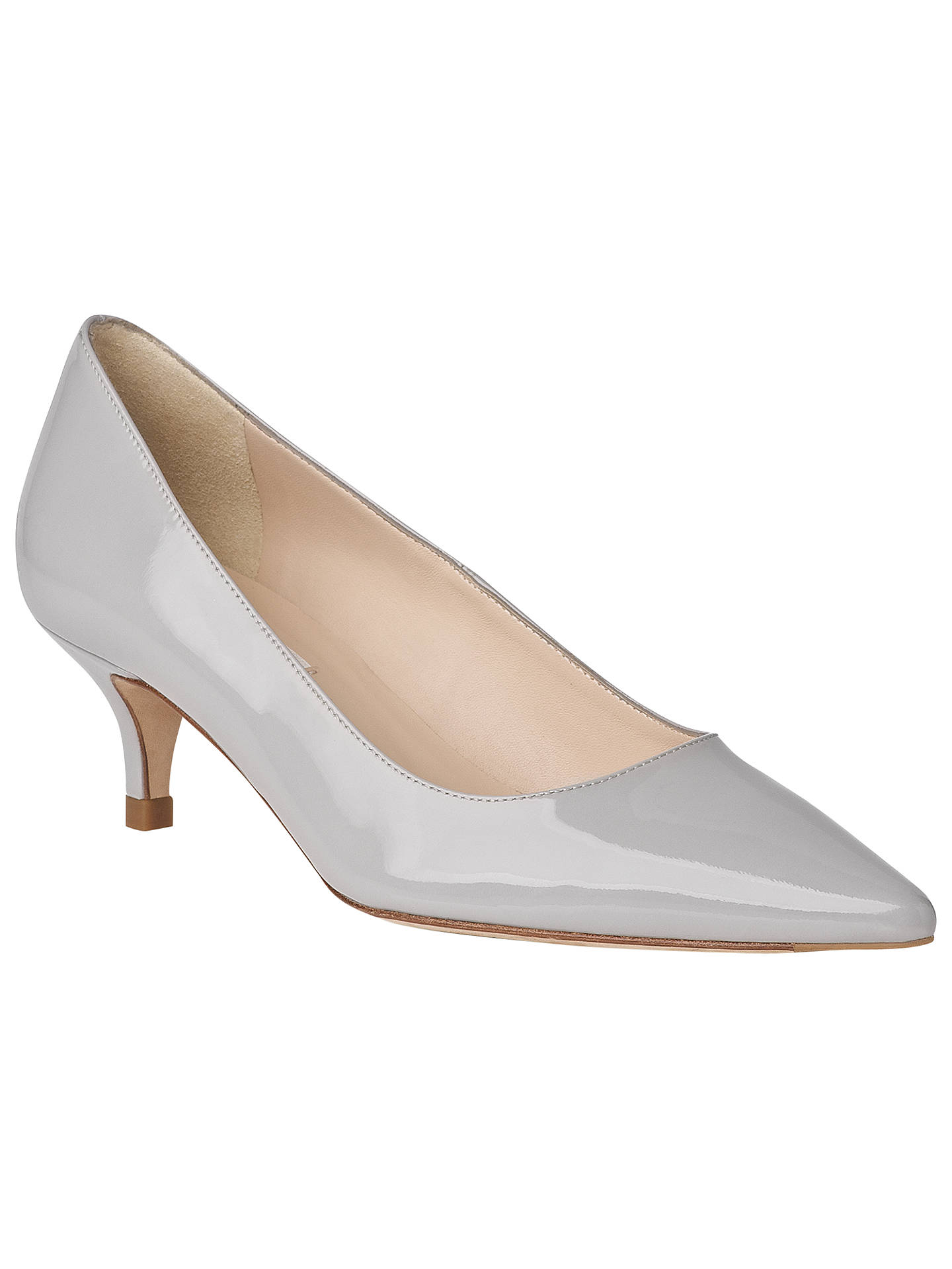 8576c6d8624ac Buy L.K. Bennett Minu Court Shoes, Mist, 5 Online at johnlewis.com ...