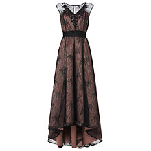 Buy Phase Eight Collection 8 Avalia Lace Dress, Black/Pink Online at johnlewis.com