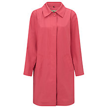 Buy Four Seasons Top Stitch Raincoat, Candy Online at johnlewis.com