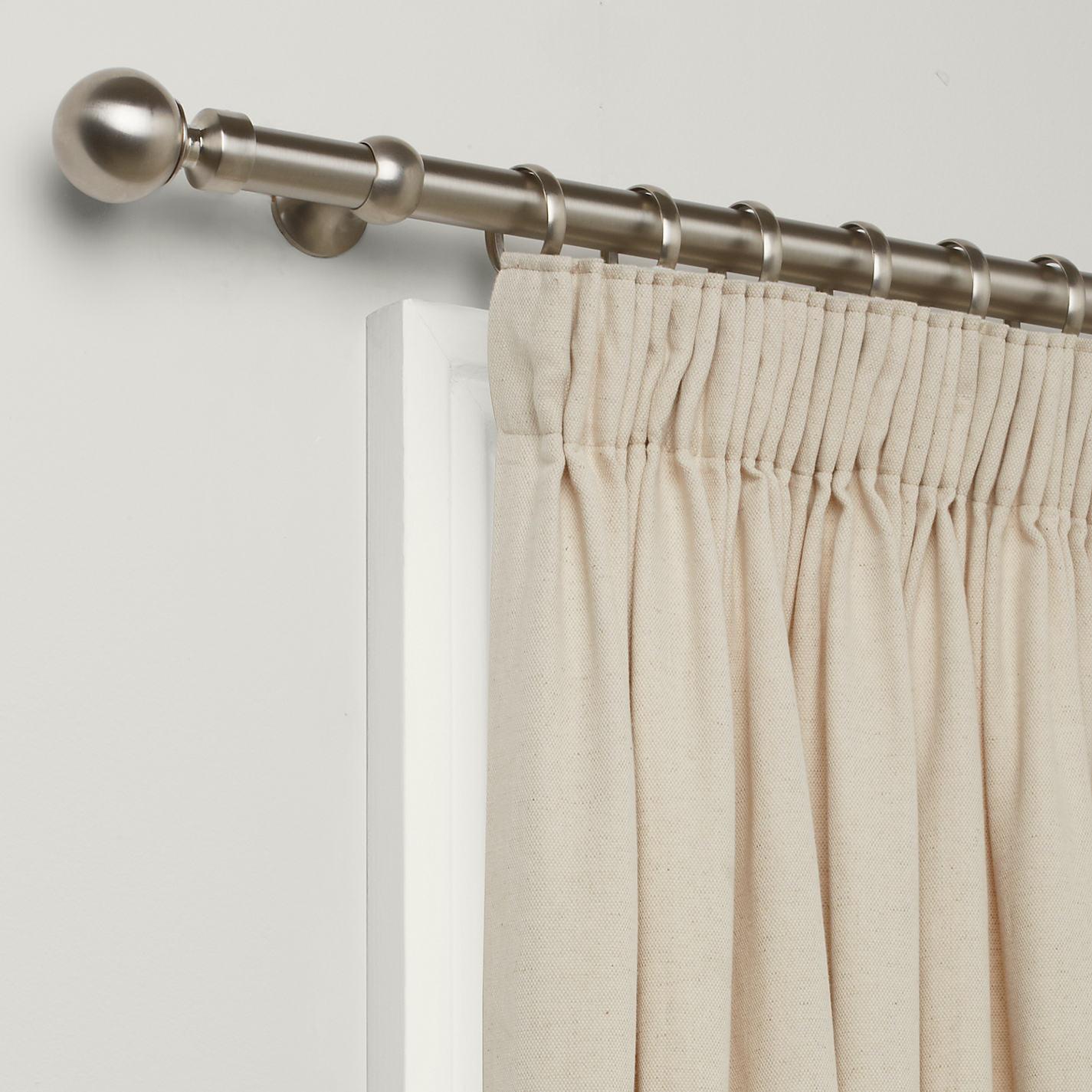 2m steel curtain pole curtain menzilperdenet