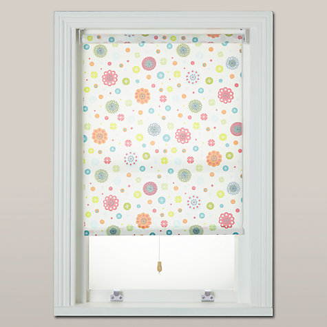 buy little home at john lewis birds buttons blackout roller blind online at johnlewis
