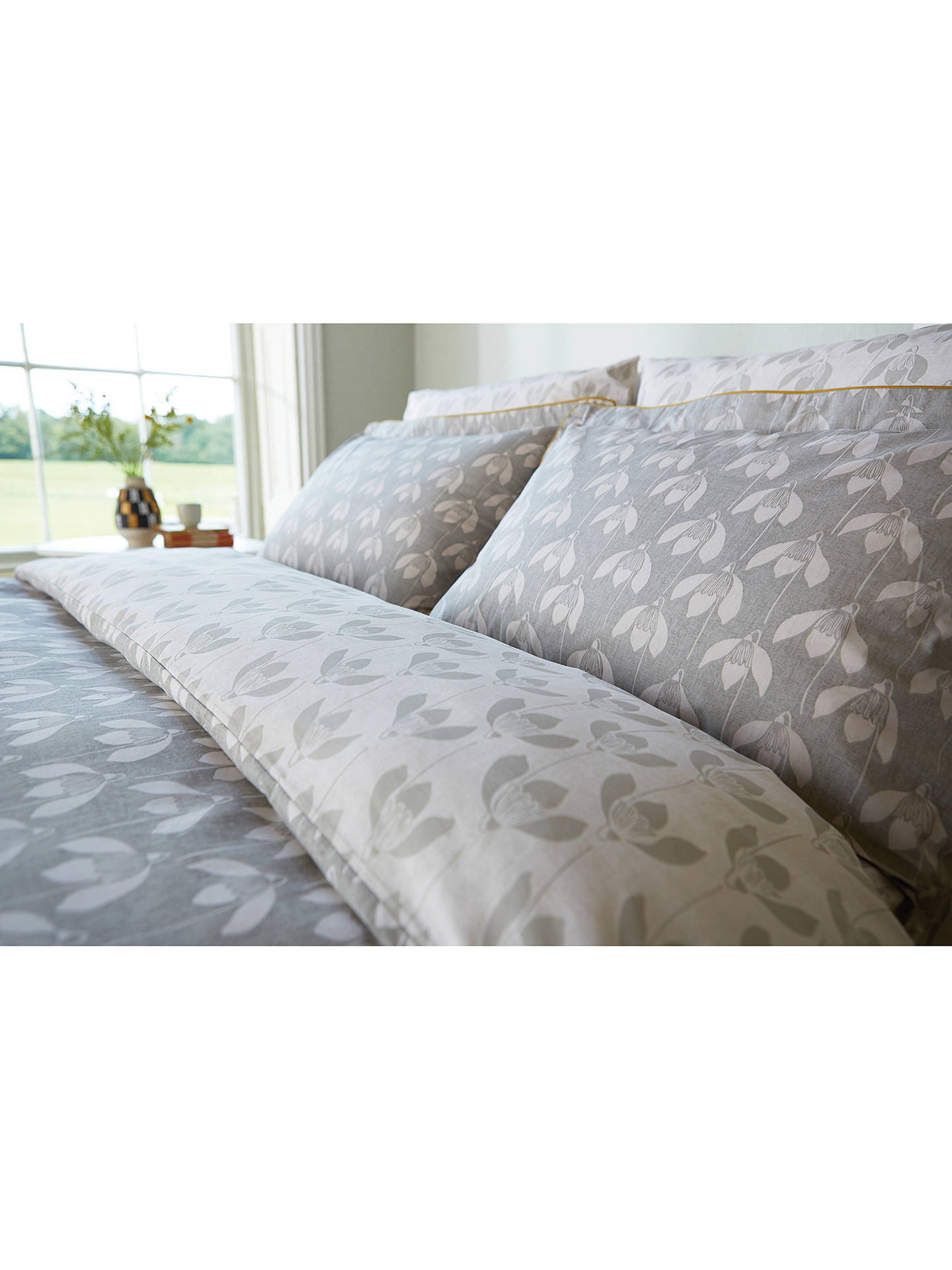 scion snowdrop bedding at john lewis partners. Black Bedroom Furniture Sets. Home Design Ideas