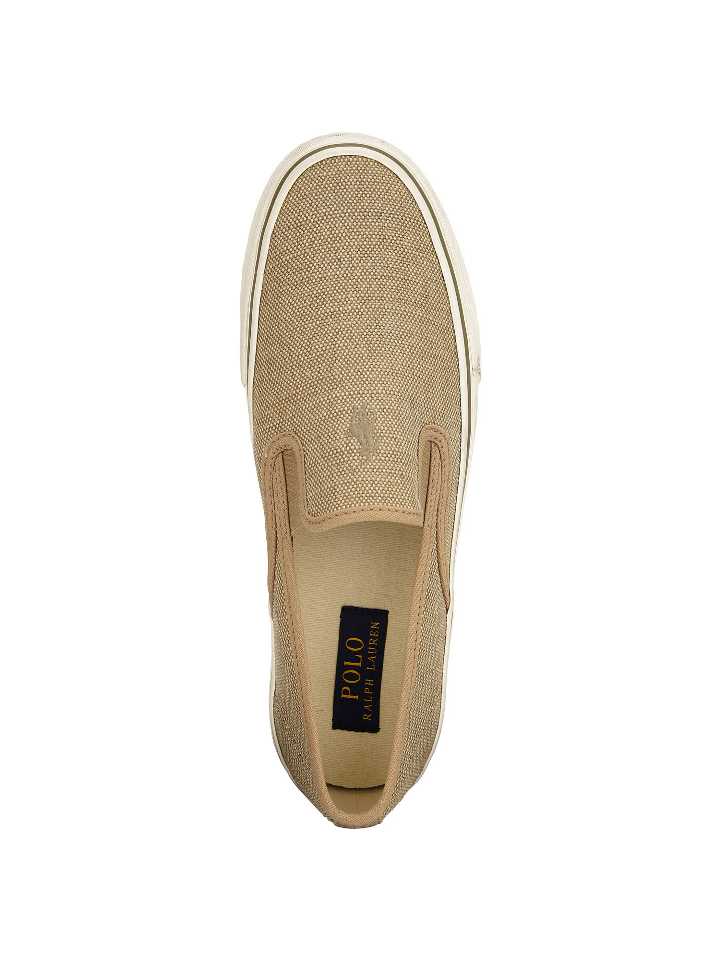 On Ralph Mytton Lauren Canvas ShoesTan Polo At Slip Lewis John hQsrdt