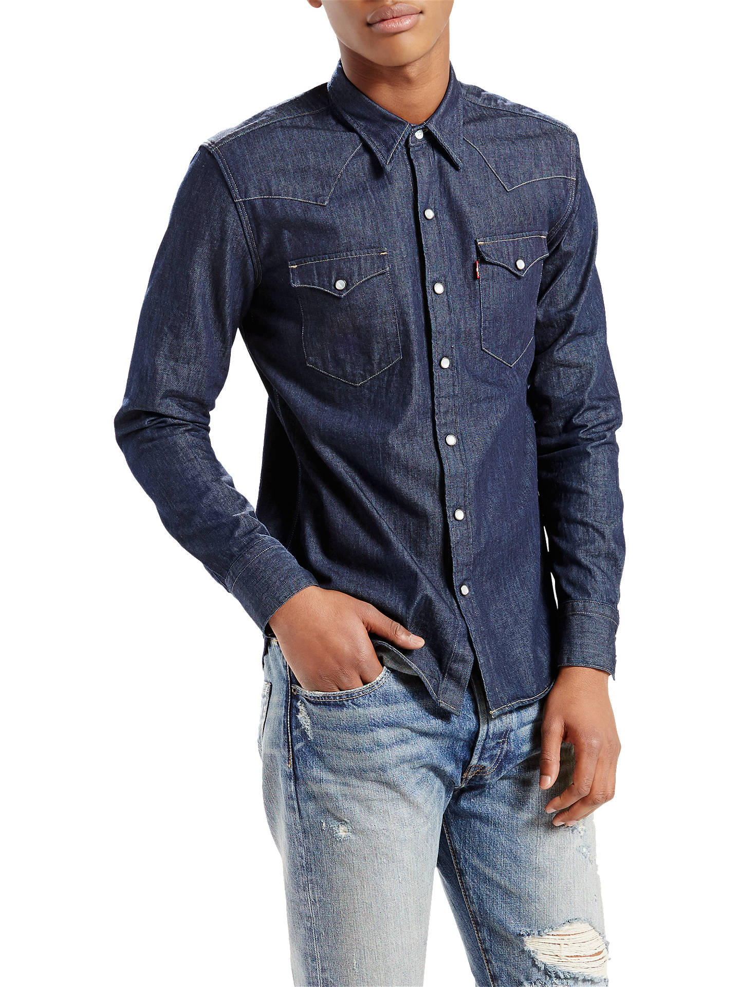 61fb85e74a Buy Levi s Barstow Western Denim Shirt