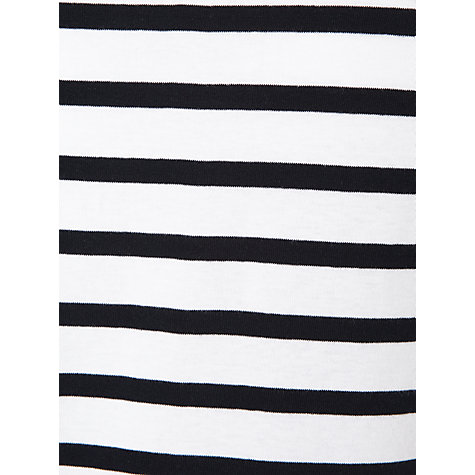 Buy John Lewis Half-Sleeve Breton Stripe Top Online at johnlewis.com