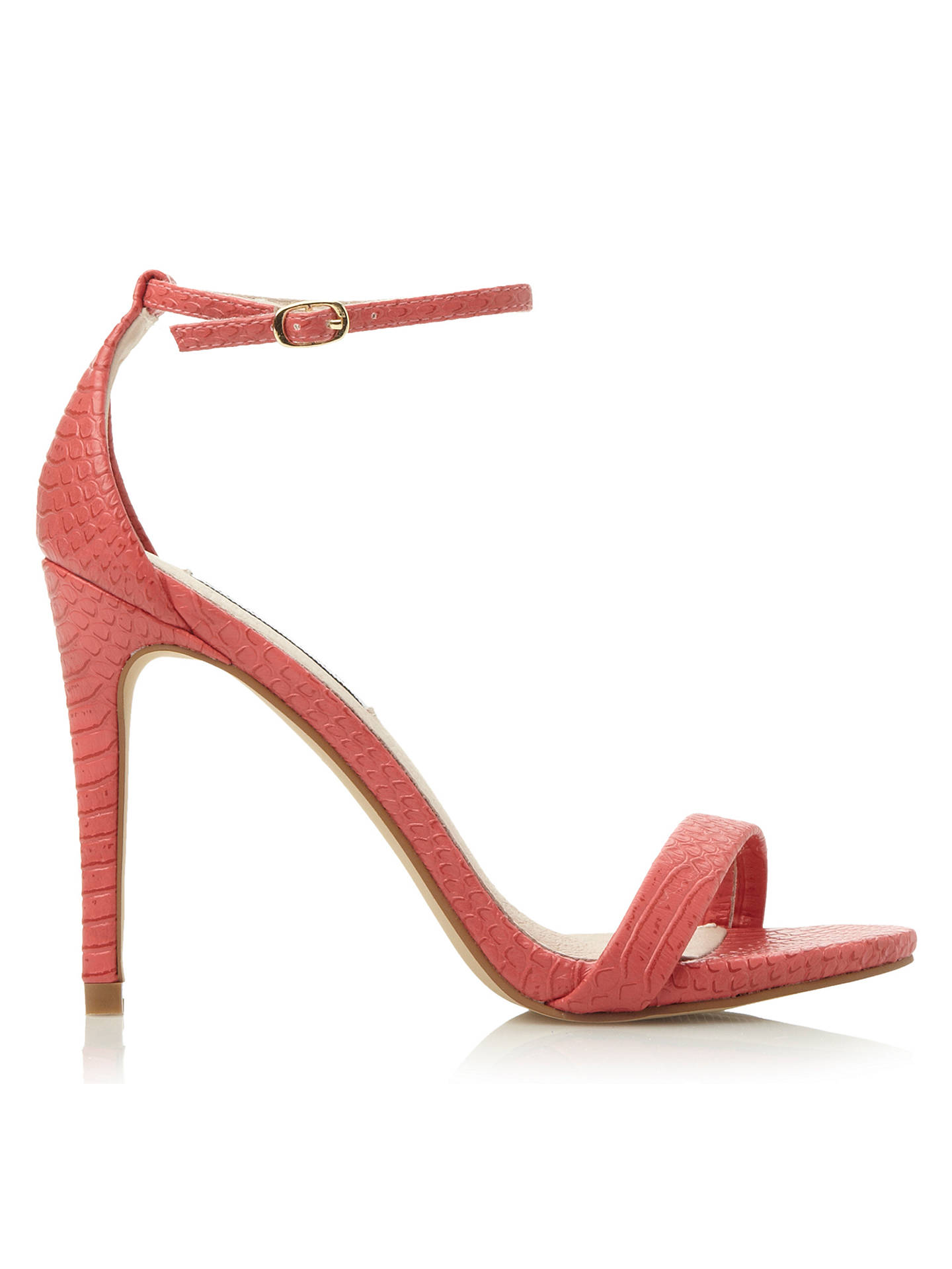 085a6864439 Steve Madden Stecy-R SM Barely There High Heeled Sandals at John ...