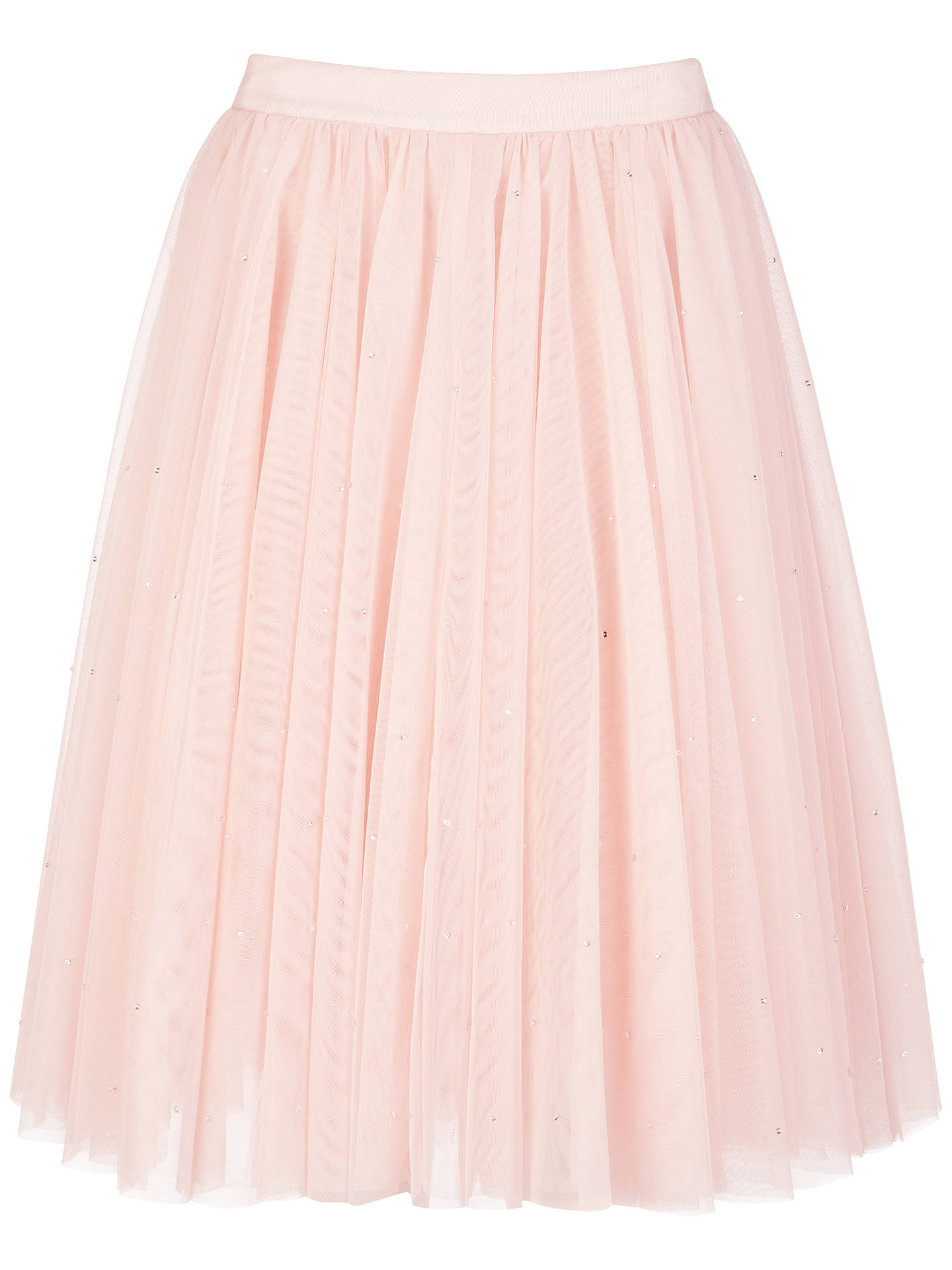33187a135 Buy Ted Baker Odella Netted Tutu Skirt, Pale Pink, 6 Online at johnlewis.