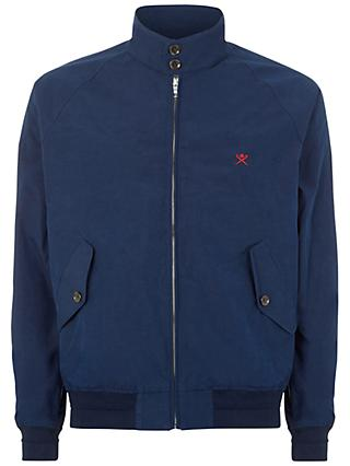 Hackett London Harry Classic Harrington Jacket, Navy