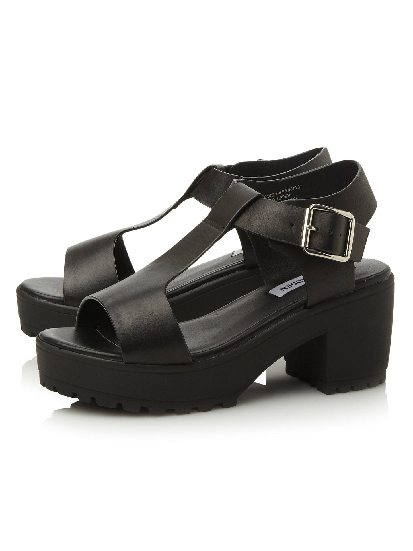 7a13646c537 ... Buy Steve Madden Stefano Chunky Leather T-Bar Sandals