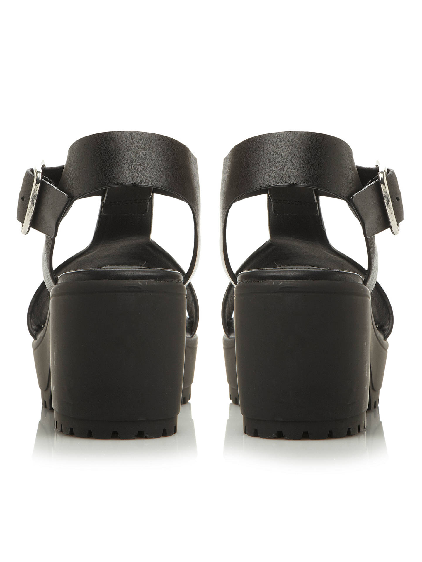 7f47b28446f ... Buy Steve Madden Stefano Chunky Leather T-Bar Sandals